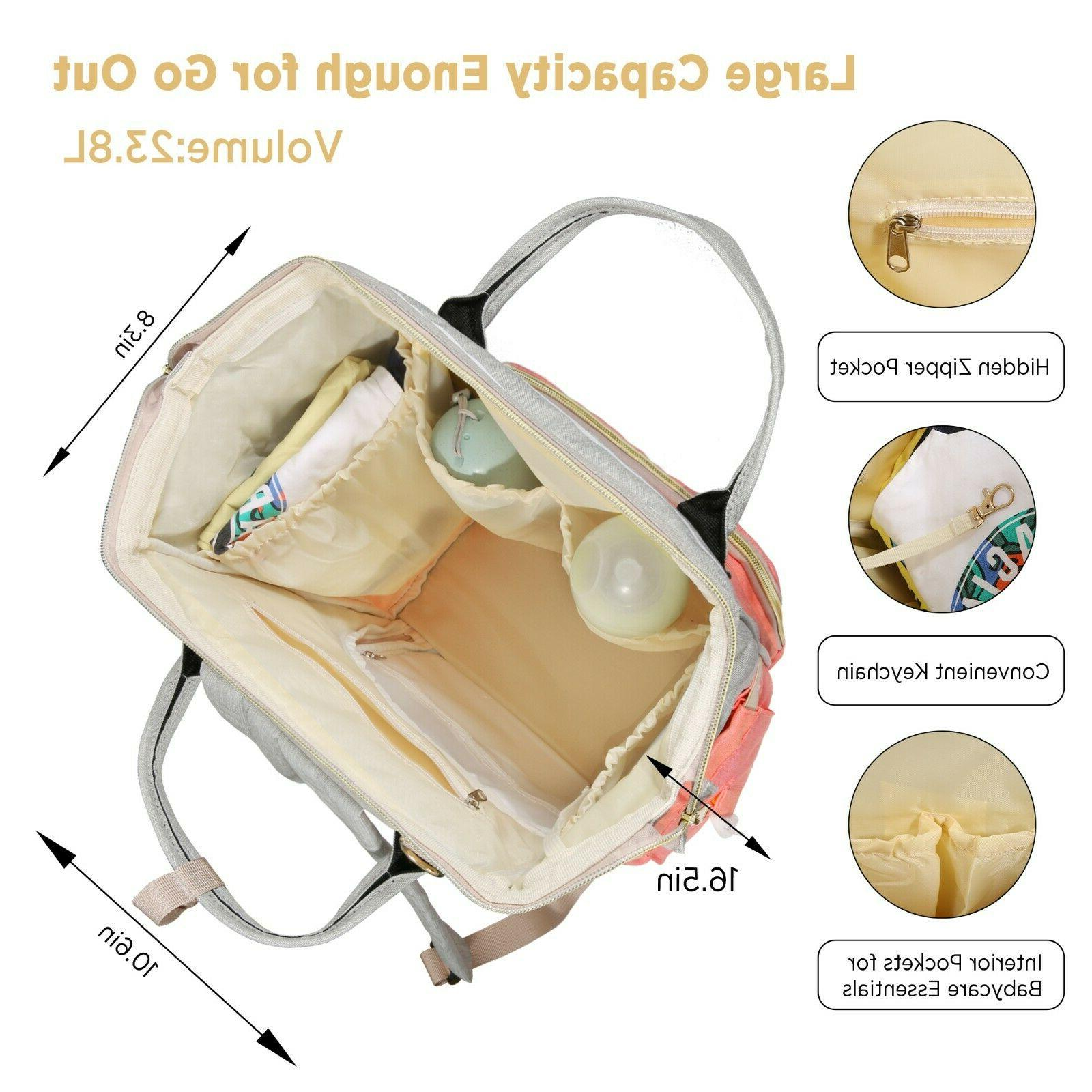 Diaper Bag Backpack - Waterproof Baby