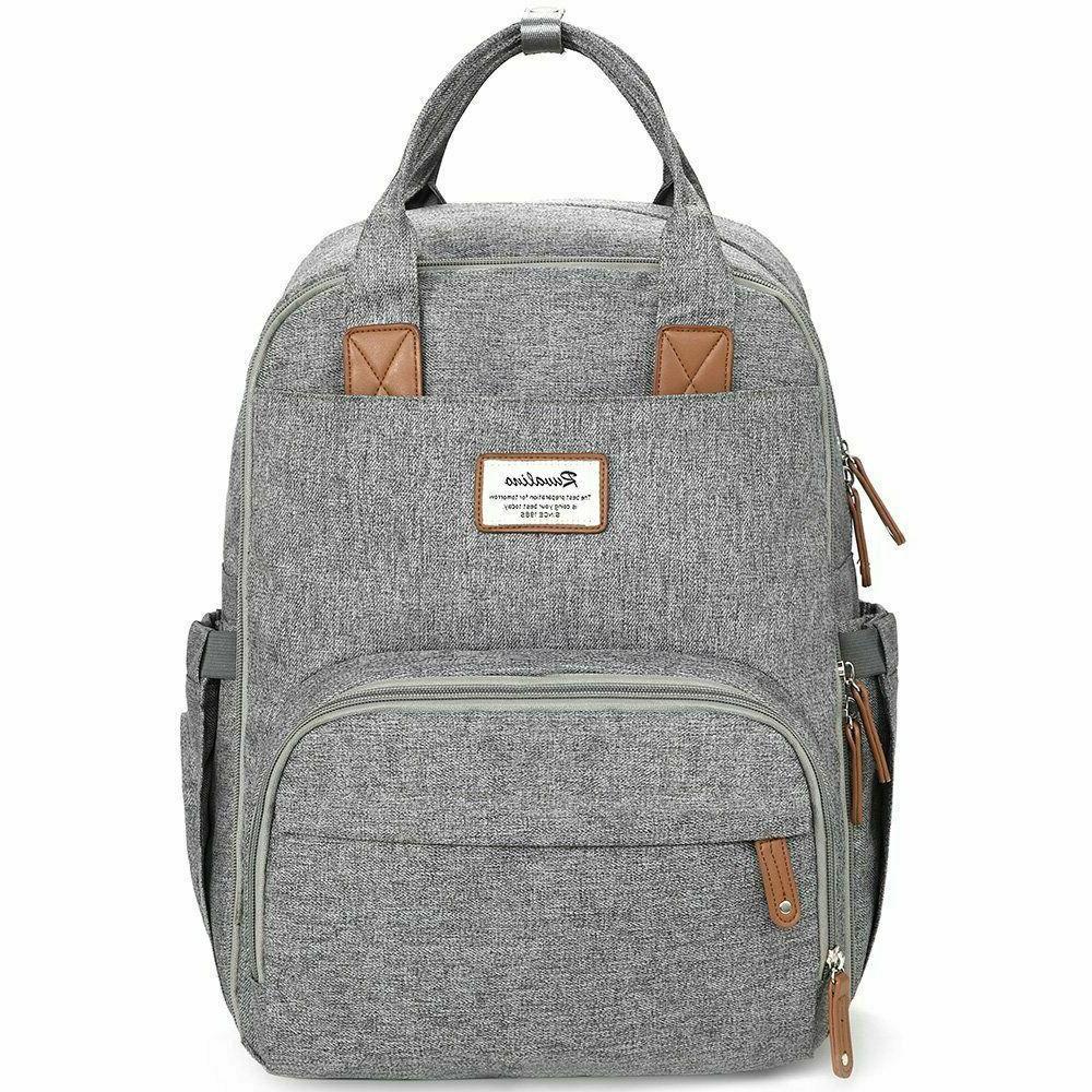 Diaper Bag Multifunction Travel Back Maternity Gray