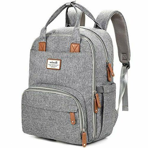 Diaper Bag Backpack, RUVALINO Multifunction Travel Back Pack