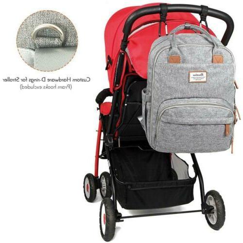 Diaper Backpack, RUVALINO Multifunction Maternity
