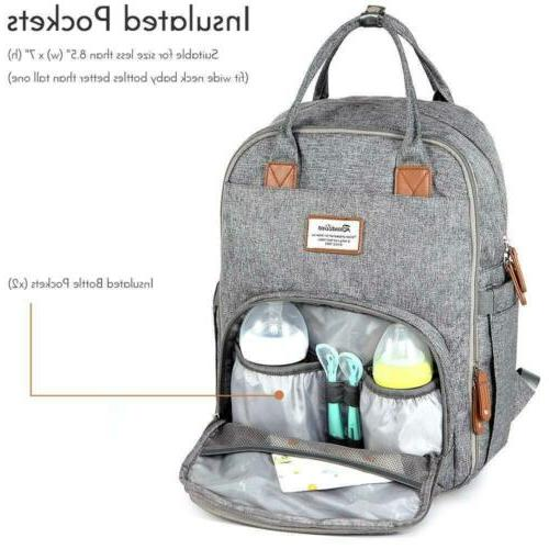 Diaper Bag Backpack, RUVALINO Multifunction Maternity Baby...