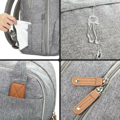 Diaper Bag Backpack, RUVALINO Multifunction Back Maternity Baby...