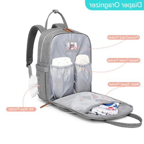 Diaper Backpack Travel Back Baby Changing Bags