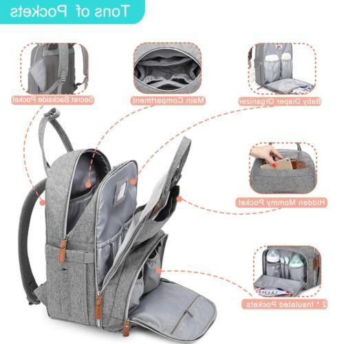 Diaper Bag Travel Baby Changing