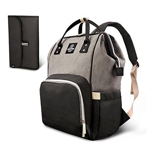 diaper bag backpack tote shoulder