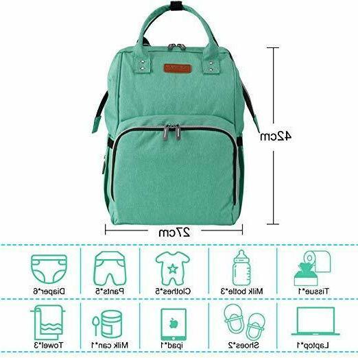 Diaper Backpack Waterproof Travel Nappy Gift
