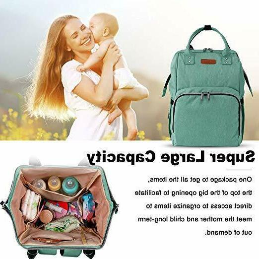 Diaper Bag Backpack Travel Nappy Large Capacity