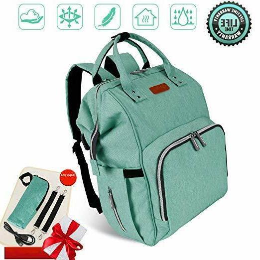 diaper bag backpack waterproof travel nappy baby