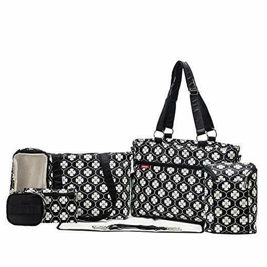 diaper bag charlotte 9 pcs set nappy