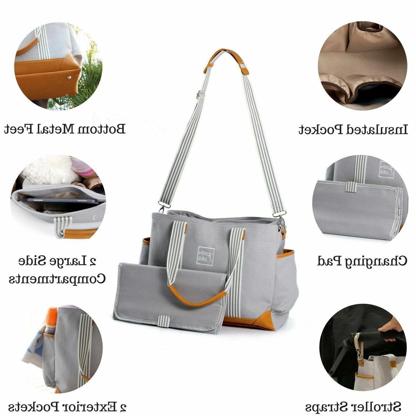 Diaper Bag for and Boys Capacity Tote