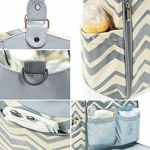 SoHo Diaper Bag 9 Set Nappy Tote Bag-