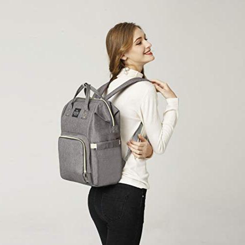 HaloVa Bag Multi-Function Waterproof Bags for Baby Large Capacity, Durable,