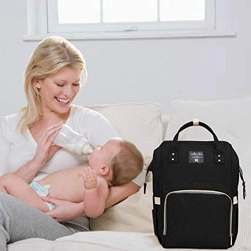 Diaper Travel Bags for Care, Large Capacity, and Mom by