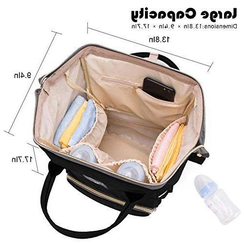 Diaper Multi-Function Travel for Capacity, Mom