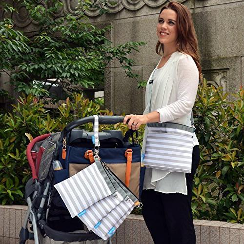 Gadikat Diaper Bag and Wet bag, Set Files