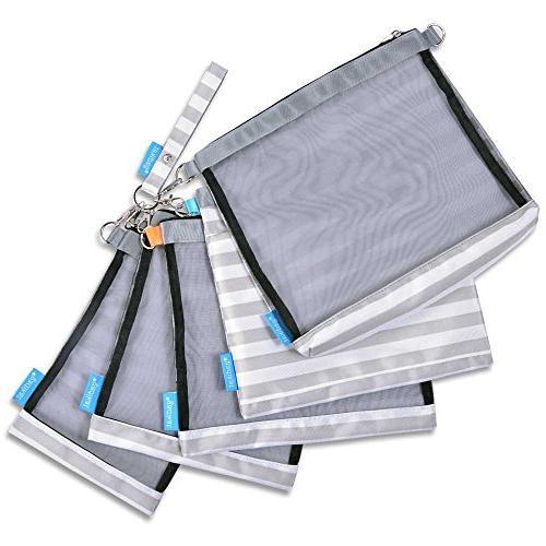 Gadikat Bag Pouches, Mesh and Wet Files
