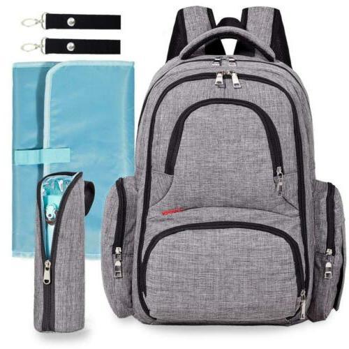 diaper bag waterproof backpack