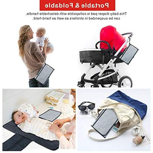 Diaper Changing Change Cushion Portable for Home,Travel Idefair