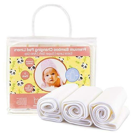 diaper changing pad liners waterproof