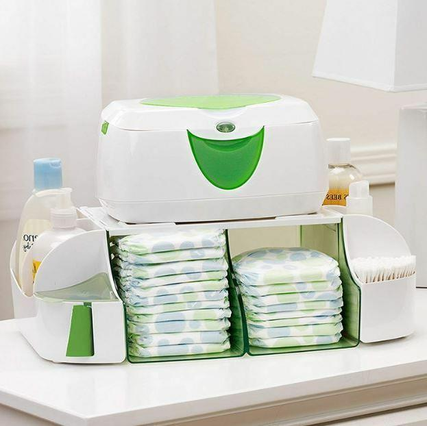 Diaper Changing Station Organizer Wipe Ointment Lotion Baby