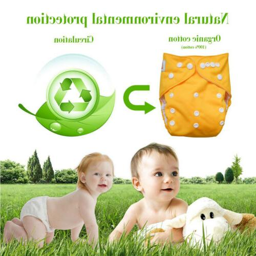 Diaper Inserts Reusable Washable