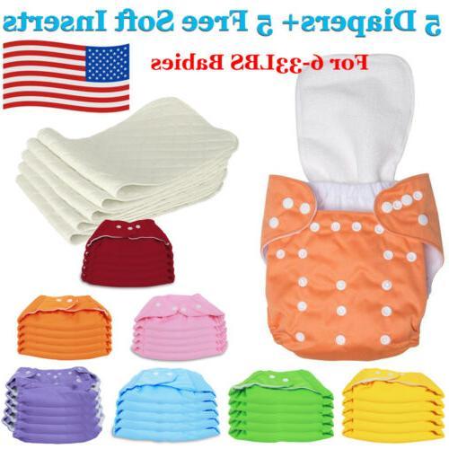 diaper inserts adjustable reusable lot baby boy