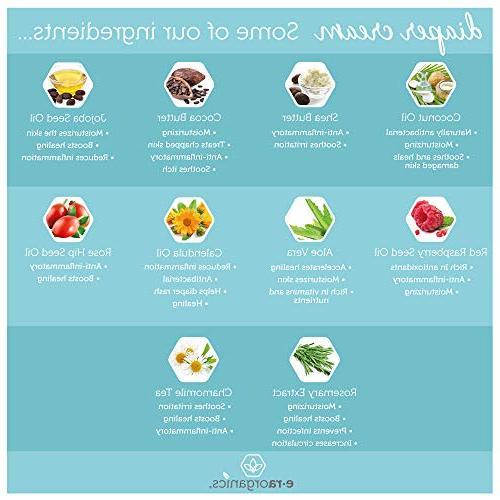 Diaper Natural & Soothing Oxide Diaper Rash Vera, Chamomile, Calendula, Hip for Skin.