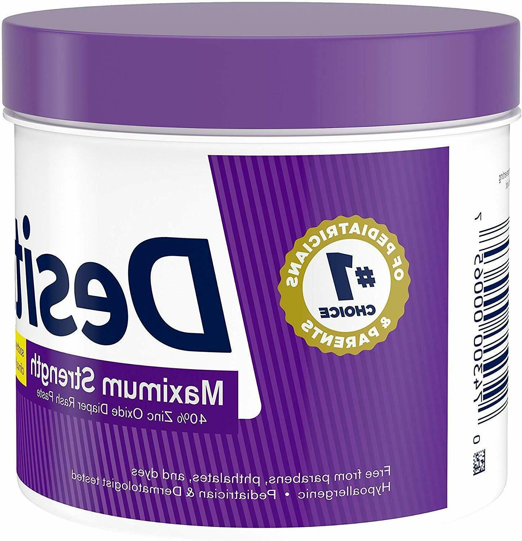 Desitin Rash Strength Original Zinc Oxide Ounce
