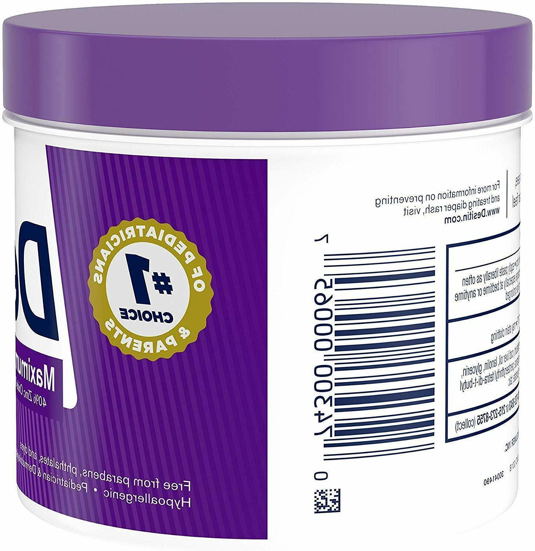 Desitin Diaper Strength Zinc Oxide 16 Ounce 2-PACK