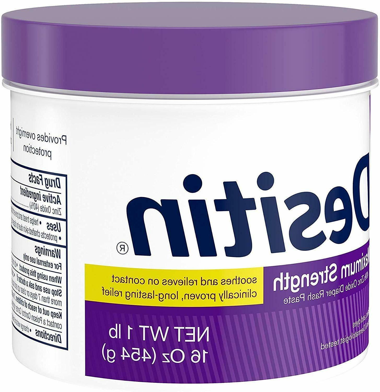 Desitin Diaper Rash Strength Original Paste Oxide 16