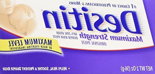 Desitin Maximum Strength Original Diaper Rash Paste - 2 oz