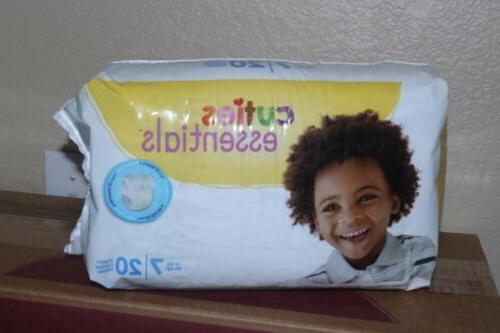 Cuties Diaper, Size 7, Heavy Disposable, - Case 80