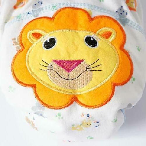 Diaper Washable B 1Pcs Cute Diapers Reusable Nappies
