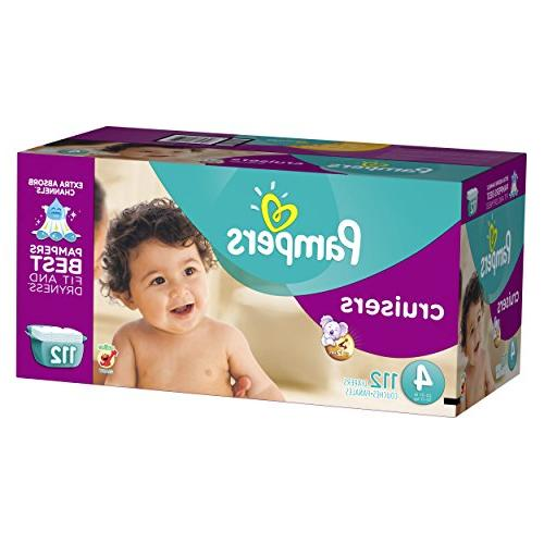 Pampers Diapers Size 4 ea