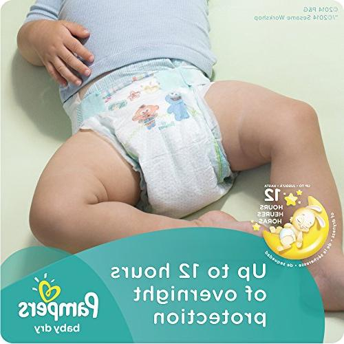 Pampers Baby Dry Diapers Size 128 ea