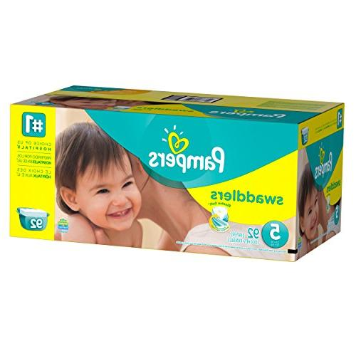 Pampers Swaddlers Diapers 5 Giant Pack, 92 ea