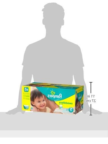 Pampers Swaddlers Diapers 5 Pack, 92 ea