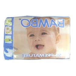 BAMBO® Baby Diapers - Size 0 - Premature - Fits 2.2 to 6.6