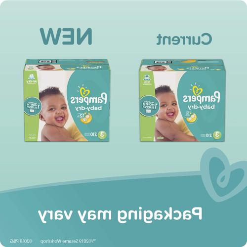 6 Pampers Disposable Diapers Super Pack