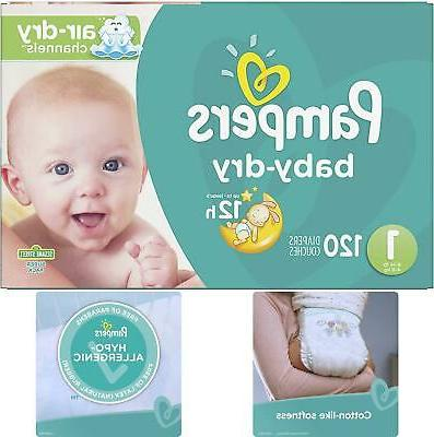 Diapers 6 Pampers Disposable Baby Pack