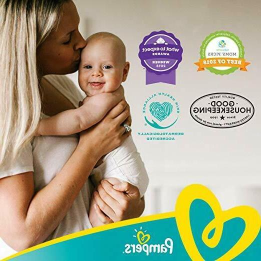 Count Pampers Disposable Diapers, MONTH