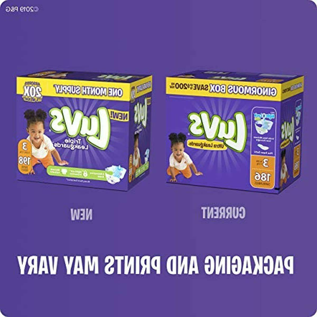 Diapers 1,2,5,4 - Luvs Baby Diaper SHIPPING