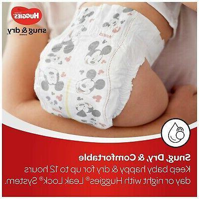 Huggies 128 lbs Snug Dry Baby Diapers Size 2