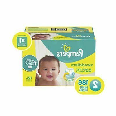 diapers size 2 186 count swaddlers disposable