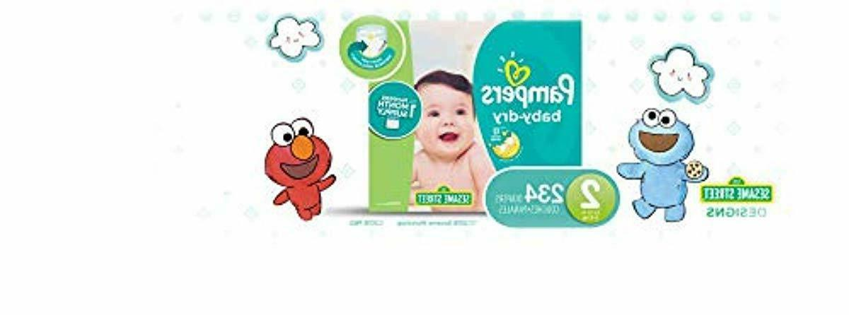 diapers size 2 234 count baby dry