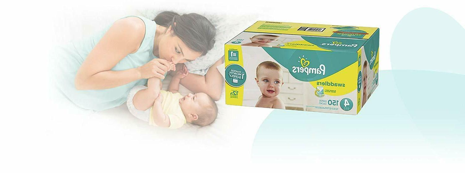 Diapers Count - Pampers Swaddlers Disposable MONTH
