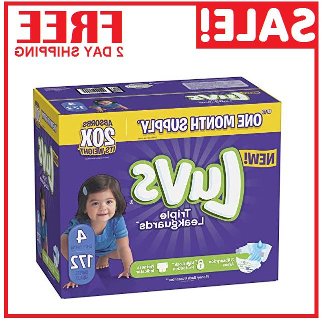 diapers size 4 ultra leakguards disposable 172