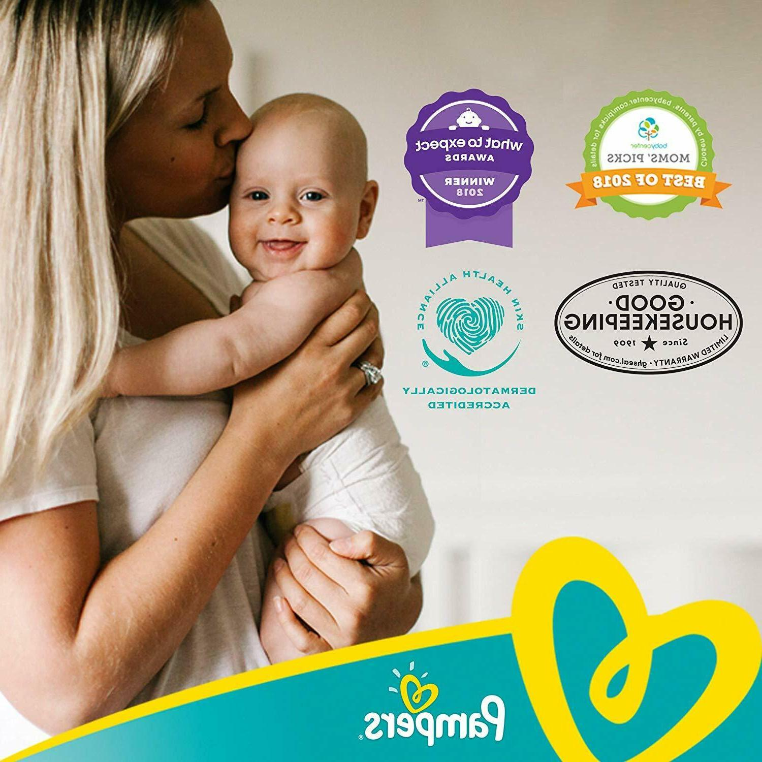 Diapers 4, Count - Pampers Disposable Baby MONTH