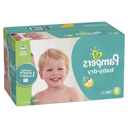 Diapers Size Count Pampers Dry Baby ONE