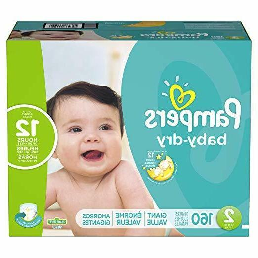 Diapers Size Dry Baby Giant